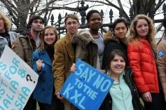 KXL protestors